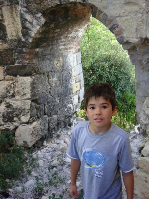 Exploring a sugar mill ruin