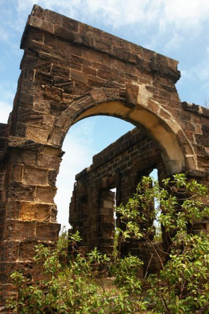 Shirley Heights ruins