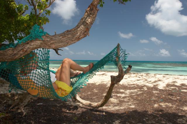 Hayley relaxing at Jabberwock